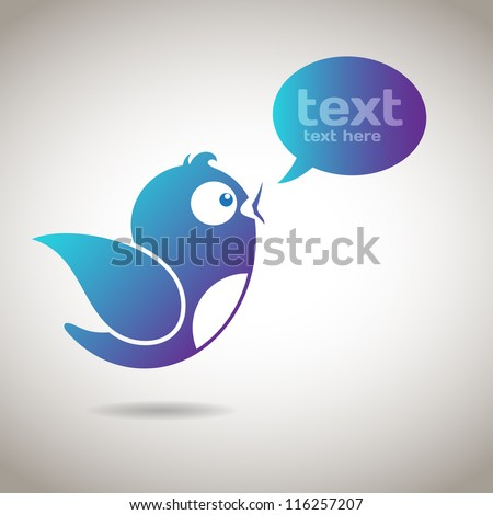 Social Media Message - stock vector