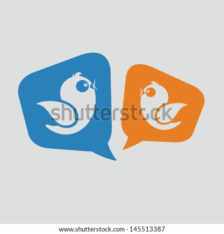 Social Media Messages - stock vector