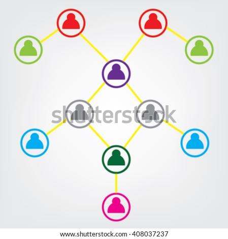 Social Media, Social network - stock vector