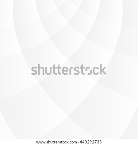Soft and smooth white geometric background - stock vector