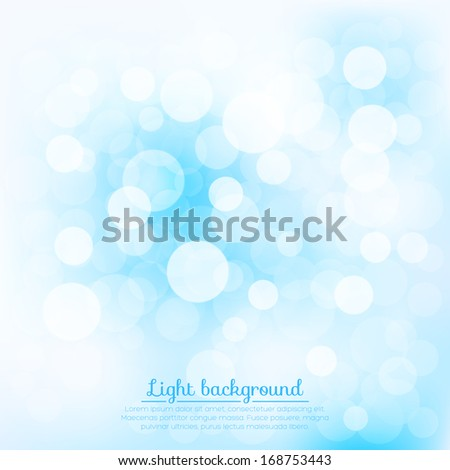 Soft background for your design. Vector illustration - stock vector