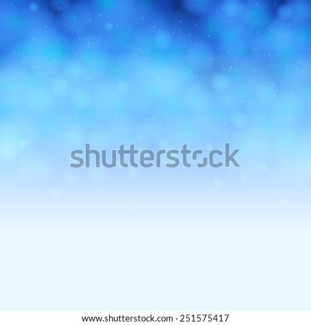 Soft blue background - stock vector