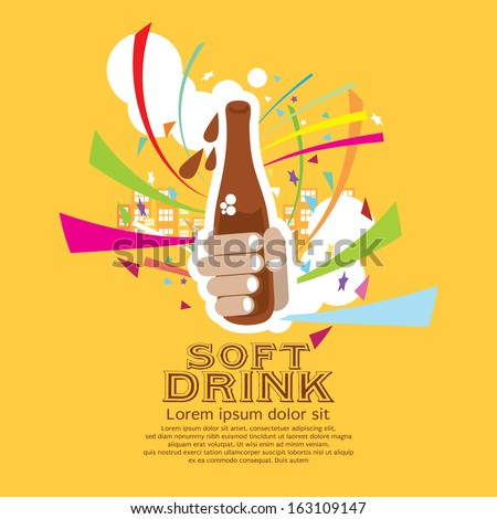 Soft Drink Vector Illustration EPS10 - stock vector