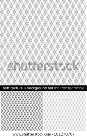 soft paper texture & background set - napkin texture - stock vector