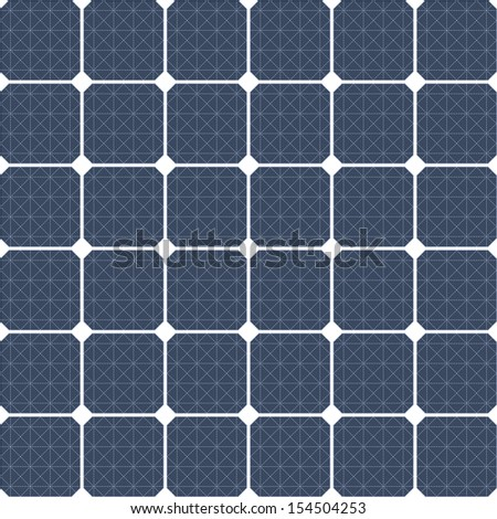Solar panel as a background - stock vector
