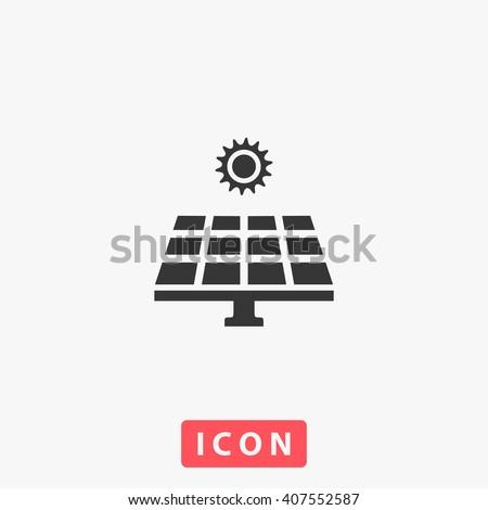 solar panel Icon. solar panel Icon Vector. solar panel Icon Art. solar panel Icon eps. solar panel Icon Image. solar panel Icon logo. solar panel Icon Sign. solar panel Icon Flat. solar panel Icon UI - stock vector