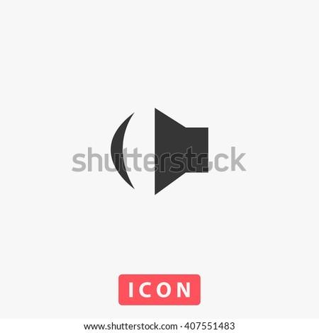 sound Icon, sound Icon Vector, sound Icon Art, sound Icon eps, sound Icon Image, sound Icon logo, sound Icon Sign, sound icon Flat, sound Icon design, sound icon app, sound icon UI, sound icon web - stock vector