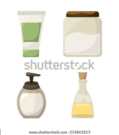 spa design over white background vector illustration - stock vector