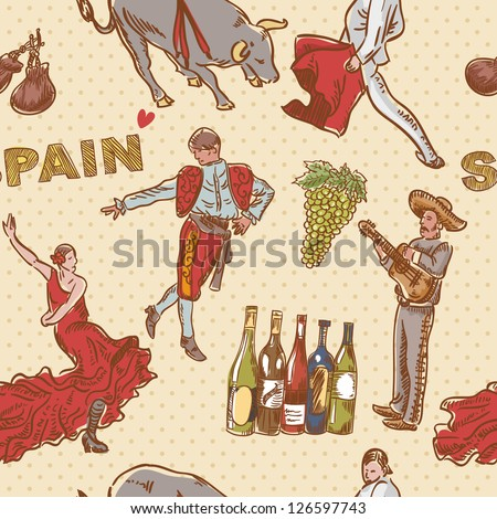 Stock Images similar to ID 22641040 - sangria typical ...