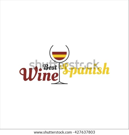 Spanish wine - stock vector