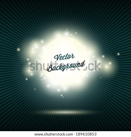 Sparkling Abstract Background With Burst Rays Multi