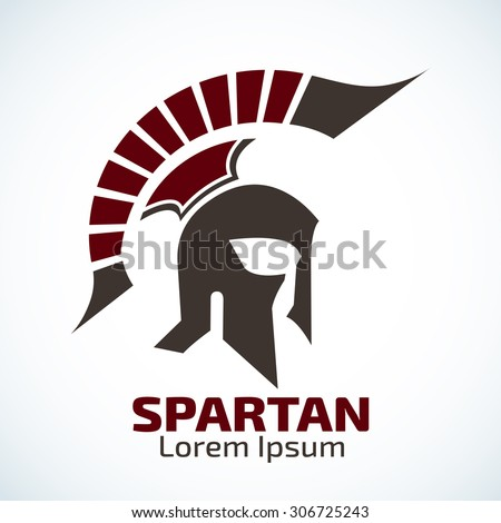Spartan Helmet icon,Old Vintage Antiques helmet icon idea concept for the logo - stock vector