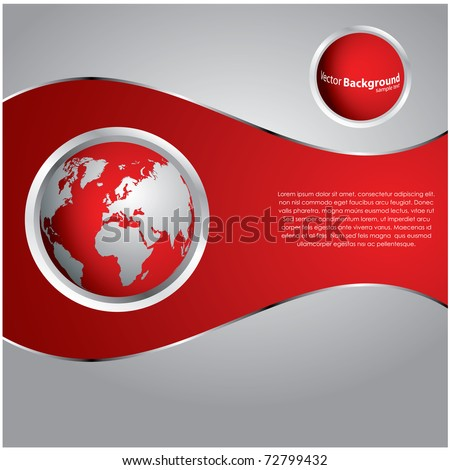 special red background - stock vector