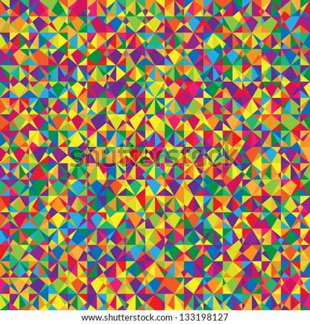 Spectrum vector background. Colorful geometric texture. - stock vector