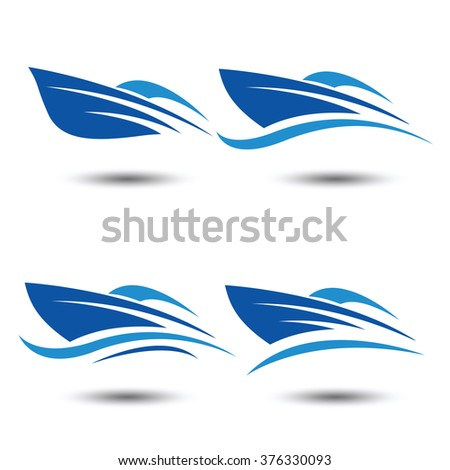 Boat Logo Stock Vectors & Vector Clip Art | Shutterstock