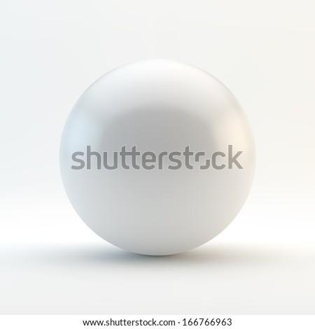 Sphere. 3D vector illustration.  - stock vector