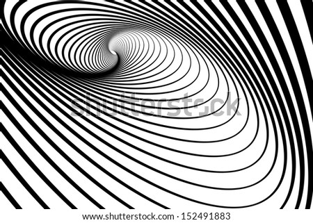 Spiral whirl movement. Abstract background. Vector art. - stock vector