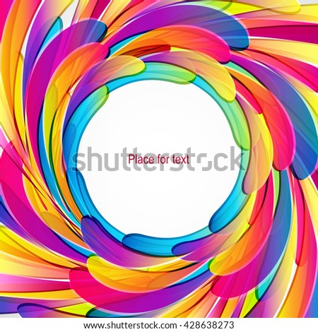 Splash design background.  - stock vector