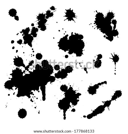 splash paint; splash paint; splash paint; splash paint; splash paint; splash paint; splash paint; splash paint; splash paint; splash paint; splash paint; splash paint; splash paint; splash paint - stock vector