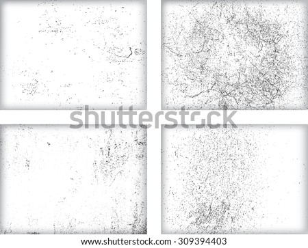 Splatter Paint Texture . Distress rough background . Scratch, Grain, Noise rectangle stamp . Black Spray Blot of Ink.Place illustration Over any Object to Create grunge Effect .abstract vector. - stock vector