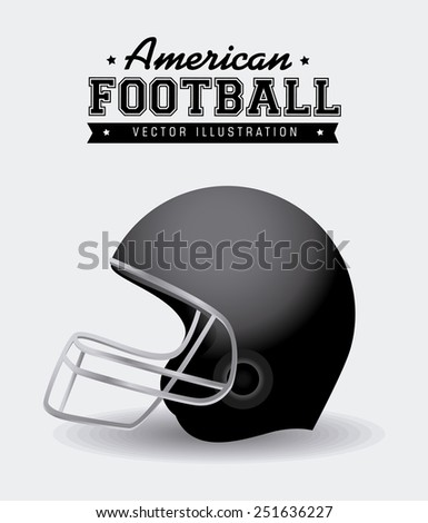 Sport design over white background ,vector illustration. - stock vector
