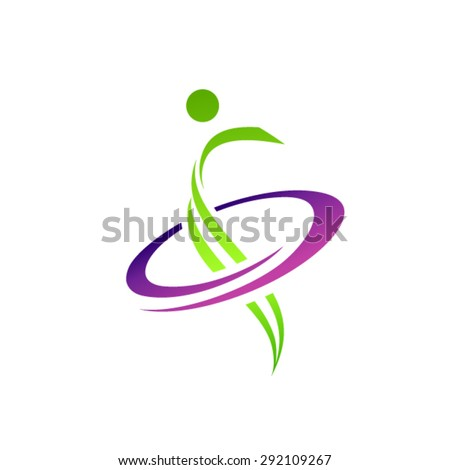 Sport logo - stock vector