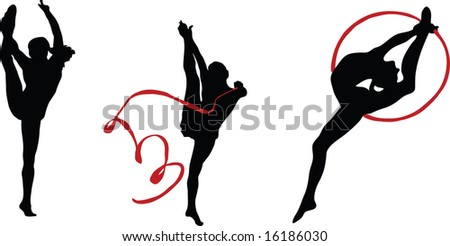 Sport. Silhouettes for your design - stock vector