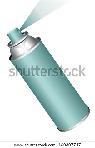 Spray can - stock vector
