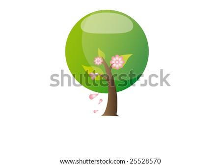 spring season - stock vector