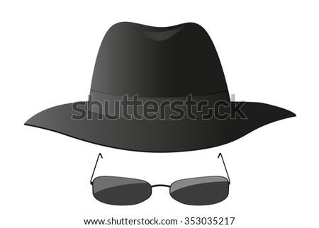 Spy icon - stock vector