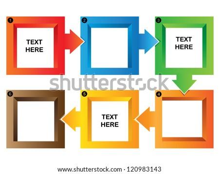 process flow chart template, Powerpoint templates