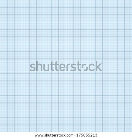 Squared pattern, seamless. Vector illustration. Similar to graph paper. - stock vector