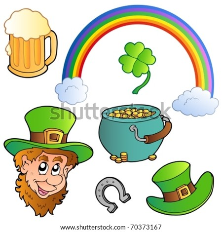 St Patrick day collection 3 - vector illustration. - stock vector