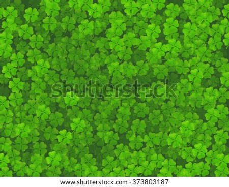St. Patrick`s day background. Vector image - stock vector