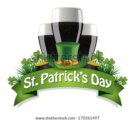 St. Patrick's Day Icon - stock vector
