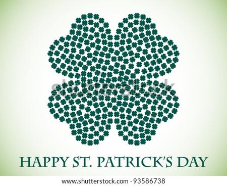 St. Patricks Day Background - stock vector