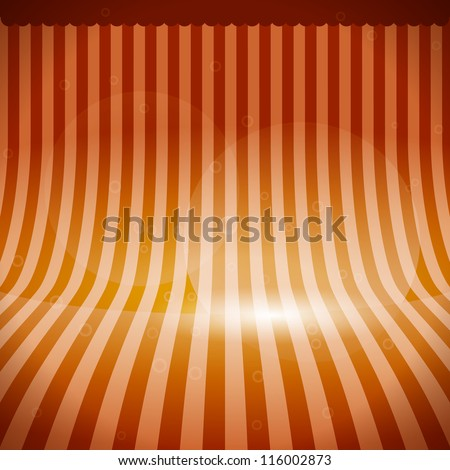 Stage Background - stock vector