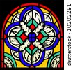 stained-glass - stock vector