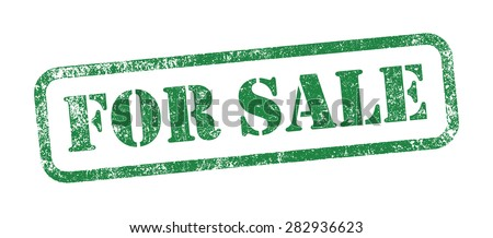 Stamp For Sale - stock vector