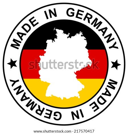 """Stamp """" Made in Germany """" - stock vector"""