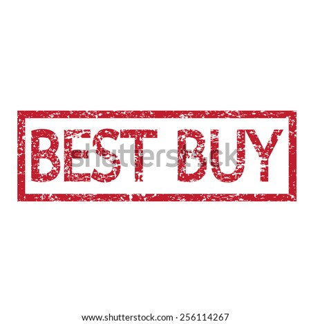 Stamp text best buy - stock vector