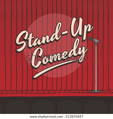 Stand up Comedy Stage Wallpaper Stand up Comedy Live Stage Red