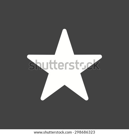 Star, favorite, best icon vector image.Can also be used for user interface. Suitable for mobile apps, web apps and print media. - stock vector