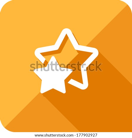 star icon - stock vector