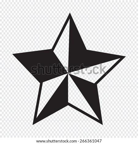 Star Icon - stock vector