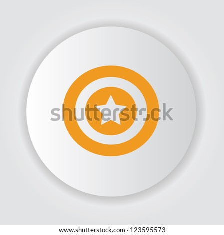 Star symbol,Vector - stock vector
