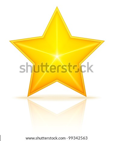 Star vector - stock vector