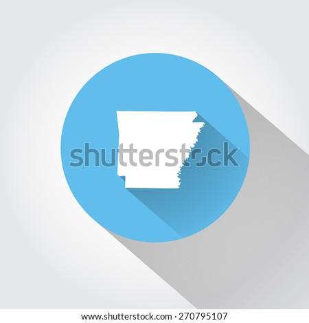 State Arizona - stock vector