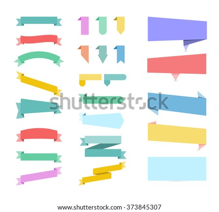 Stickers. Set of colored stickers. Set of stickers on white background. Sticker Sale Labels. Sticker for web site. Stickers Vector illustration. Stickers flat Graphic. Sticker Object. Sticker Art - stock vector