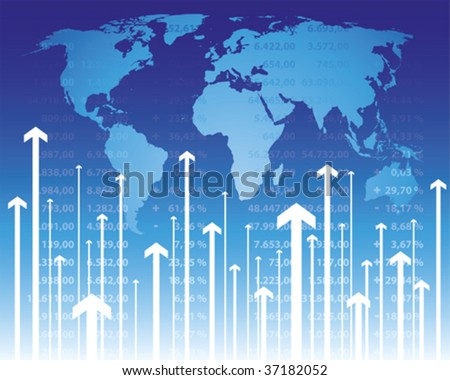 Stock quotes - stock vector